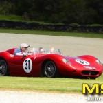 Margaret Lady Brabham in Andrew Cannon's Maserati